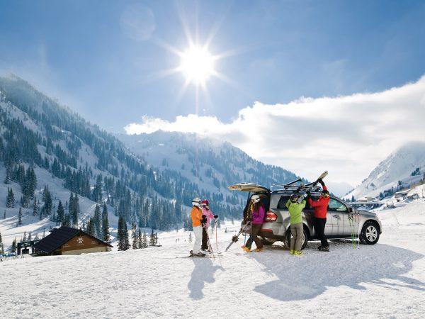 Thule Universal Pull Top Ski Racks