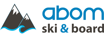 Abom Ski & Board | Calgary's Ski, Snowboard, and Watersports Store Logo